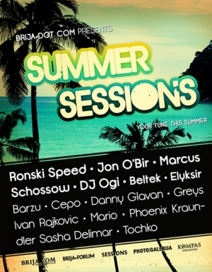 Brija Dot Com Summer Sessions 2011 (Tech House/Funky)